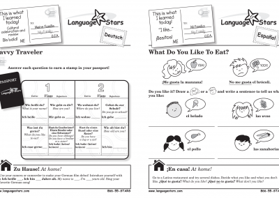 LS Activity Sheets