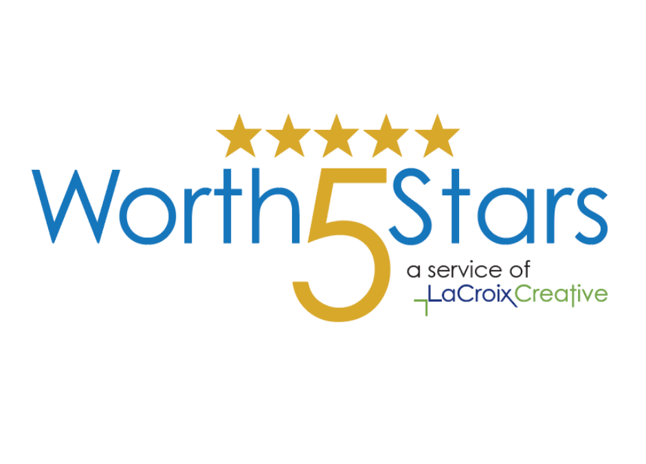 Worth5Stars review management service from LaCroix Creative